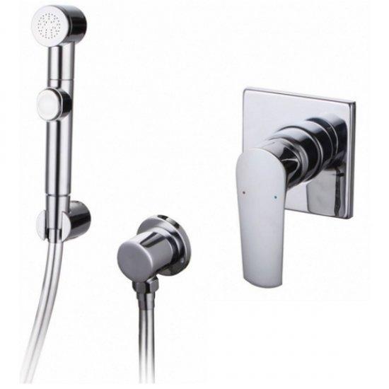 Набір Imprese VYSKOV (змішувач прихованого монтажу з гігієнічним душем, шланг полімер) VR15340Z-ВТ