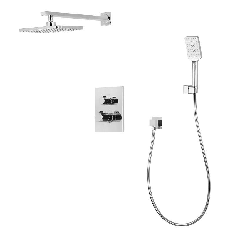 Комплект Imprese CENTRUM для ванны/душа (смес.с переключ.,верхн.душ, ручной душ,шланг, шланг. Подсоед) VR-50400