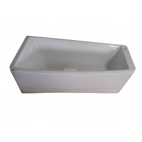 Ванна Volle акриловая асимметричная 1700*750*630 мм, левая TS-102/L