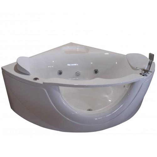Ванна Volle акрилова кутова 1500 * 1500 * 630 мм з гідромасажем 12-88-103