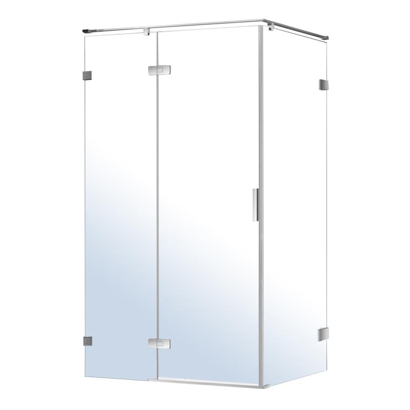 Душевая кабина Volle NEMO прямоугольная 1200*800*1950мм, распашная, прозрачное стекло 8мм, зеркальный хром 10-22-171