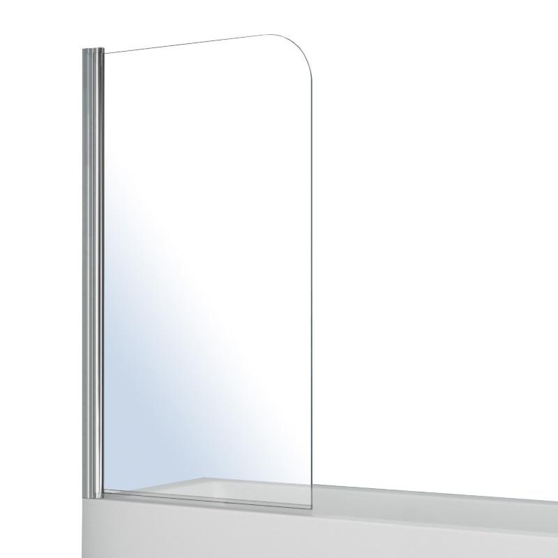 Штора на ванну Volle односекционная 1400*800мм, поворот на 180°, прозрачное стекло 5мм 10-11-100