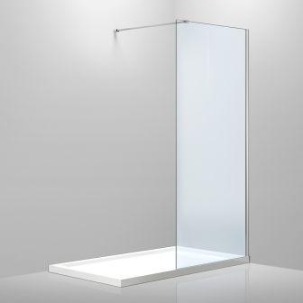 Стенка Volle 1000*2000 мм, каленое прозрачное стекло 8мм 18-08-100H