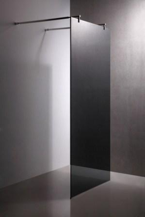 Стенка Volle 900*1900 мм, каленое прозрачное стекло 8мм 18-08-90
