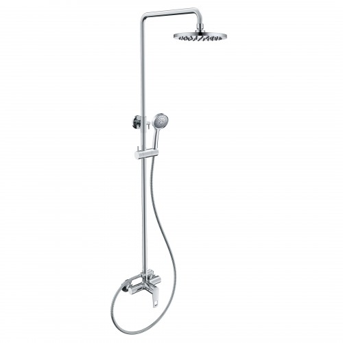 Душевая система Volle BENITA (смеситель для душа, верхний и ручной душ1 режима, шланг полимер 1,5м) 15179200