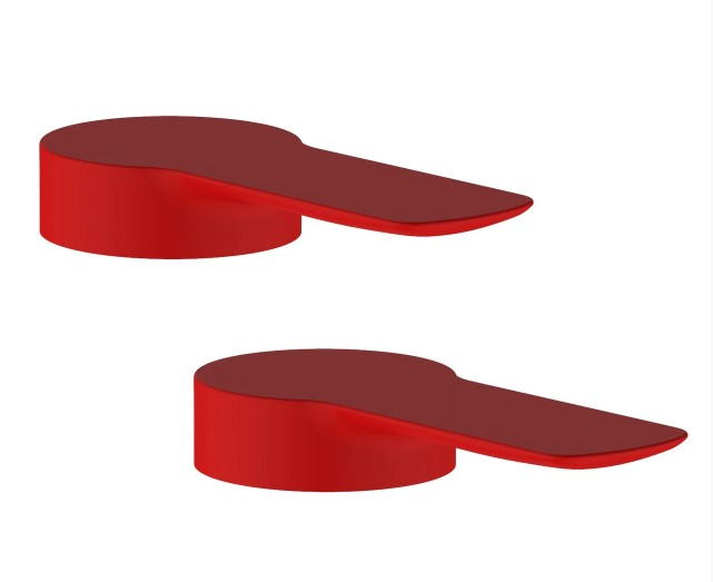 Комплект ручек Volle LIBRA (2 шт) красные 15208800