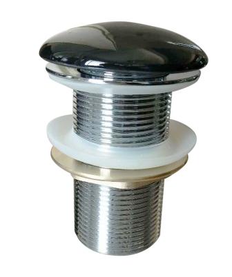 Донный клапан Volle click-clack цвет черный, латунь, 1 ¼» 90-00-037black