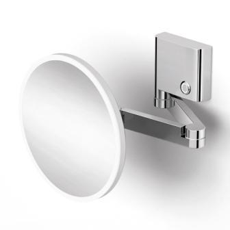 Зеркало Volle FIESTA косметическое, с подсветкой, увеличение Х3 15-77-333