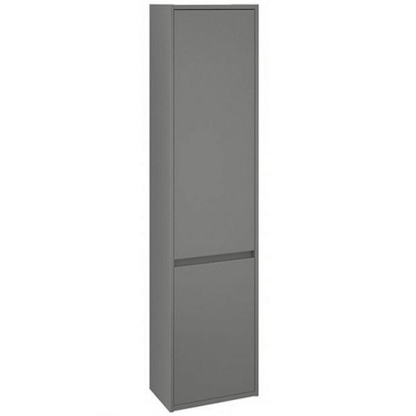 Підвісна пенал Volle TEO з двома дверцятами, сірий 15-88-55G