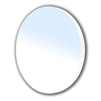 Зеркало Volle круглое 60*60см на стальной крашенной раме, белого цвета 16-06-916