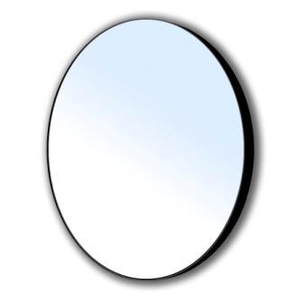 Зеркало Volle круглое 60*60см на стальной крашенной раме, черного цвета 16-06-905