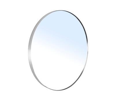 Зеркало Volle круглое 60*60см на шлифованной нержавеющей раме, с контурной белой подсветкой 16-06-999