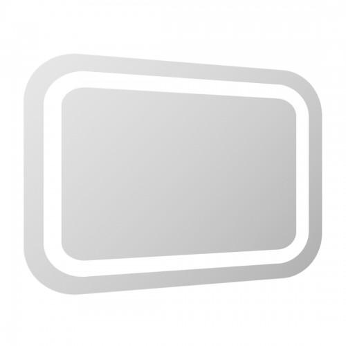 Дзеркало Volle прямокутне 100 * 70см зі світлодіодним підсвічуванням, з сенсорним вимикачем 16-46-107
