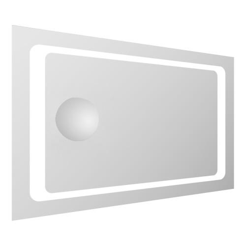 Зеркало Volle прямоугольное 55*80см со светодиодной подсветкой и встроенным зеркалом с увеличением 3Х 16-55-558
