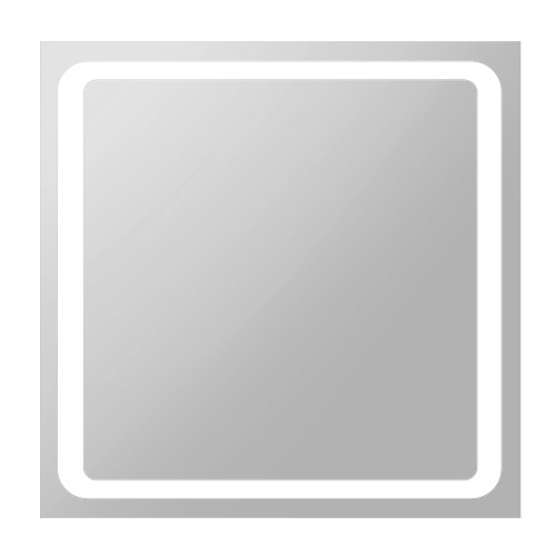 Зеркало Volle квадратное 80*80см со светодиодной подсветкой 16-80-580
