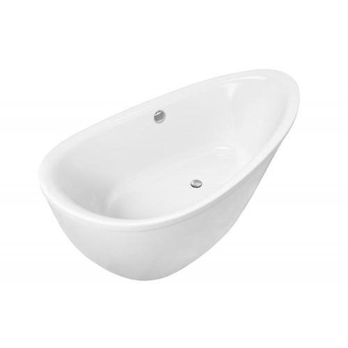 Ванна Volle отдельно стоящая 1800*910*685 мм, акриловая, с ножками и сифоном 12-22-189