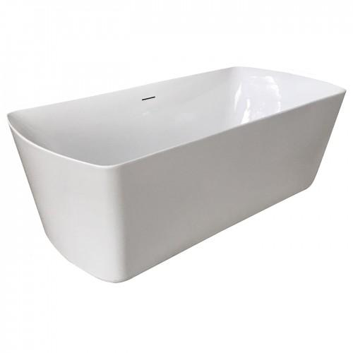 Ванна Volle отдельно стоящая 1800*850*615 мм акриловая, с сифоном 12-22-804
