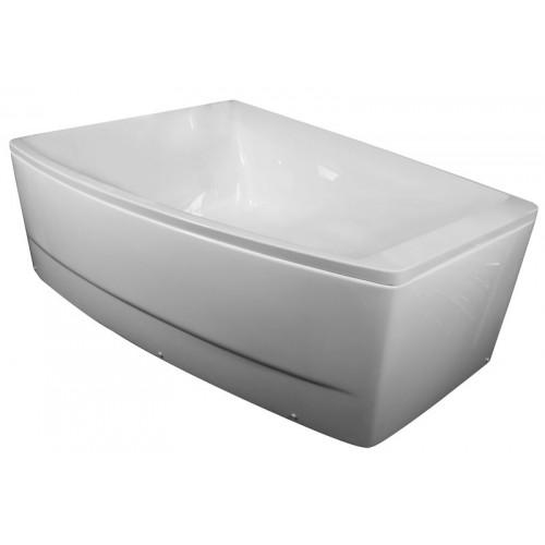 Ванна Volle акрилова асиметрична 1700 * 1200 * 630 мм, ліва TS-100 / L