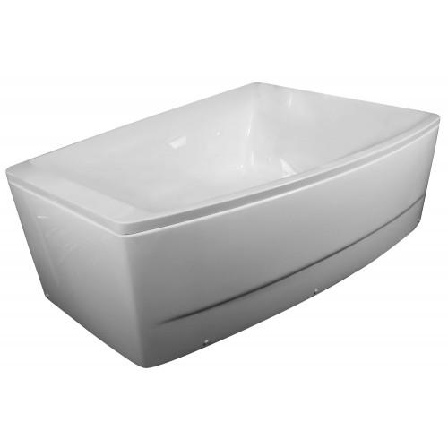 Ванна Volle акриловая асимметричная 1700*1200*630 мм, правая TS-100/R