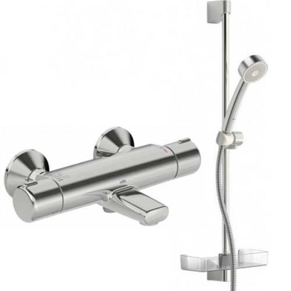 Смеситель для ванны ORAS Nova Eco с душевым гарнитуром Apollo 544 (7414U)