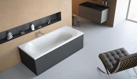Ванна акриловая + ножки Radaway Dia 180×80 WA1-05-180x080U