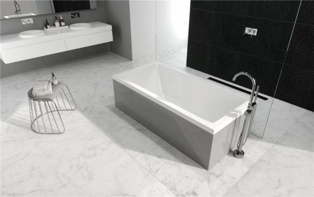 Ванна акриловая + ножки Radaway Mirella 150×70 WA1-48-150×070