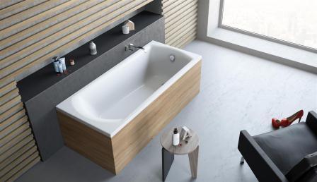 Ванна акриловая + ножки Radaway Kea 160×75 WA1-04-160x075U