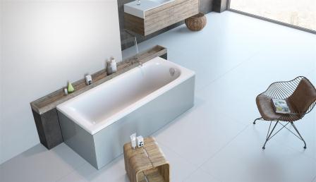 Ванна акриловая + ножки Radaway Nea 150×70 WA1-02-150x070U