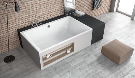 Ванна акриловая + ножки Radaway Itea Lux 190×120 WA1-29-190x120U