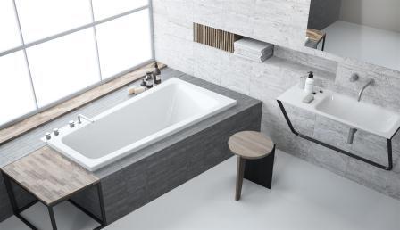 Ванна акриловая + ножки Radaway Evia 150×80 правая WA1-44-150x080P
