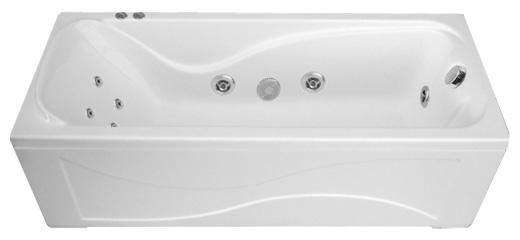 Ванна Triton Катрин 170х70 с гидромассажем (гидро, спина)