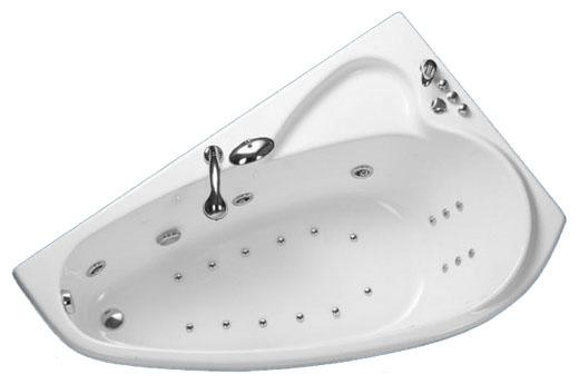 Ванна Triton Пеарл-шелл 160х104 левая