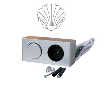 Блок питания Sanwerk (розетка+выключатель), 50 LV0000102