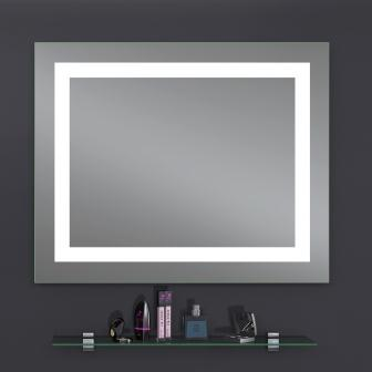 Зеркало Sanwerk LAVA «Kvadra» 80×65 LED 2835IR, W ZL0000161