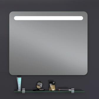 Зеркало Sanwerk LAVA «Calipso» 80×65 LED 2835IR, W ZL0000180